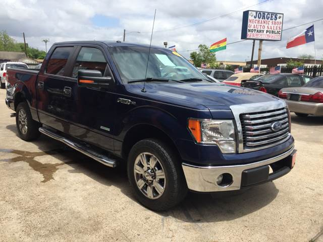 2012 Ford F-150 for sale at JORGE'S MECHANIC SHOP & AUTO SALES in Houston TX