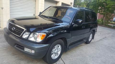 2000 Lexus LX 470 for sale at IMPORT AUTO SOLUTIONS, INC. in Greensboro NC
