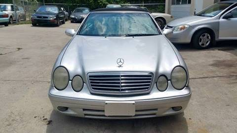 2003 Mercedes-Benz CLK-Class for sale at IMPORT AUTO SOLUTIONS, INC. in Greensboro NC