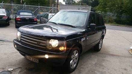 2003 Land Rover Range Rover for sale at IMPORT AUTO SOLUTIONS, INC. in Greensboro NC