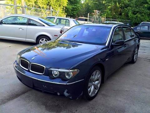 2003 BMW 7 Series for sale at IMPORT AUTO SOLUTIONS, INC. in Greensboro NC