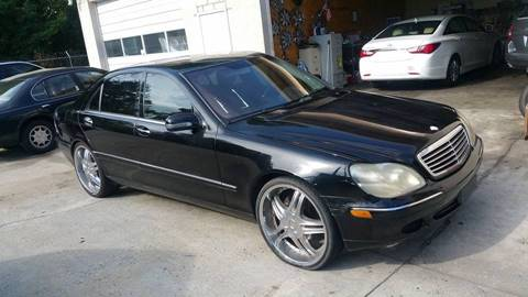 2002 Mercedes-Benz S-Class for sale at IMPORT AUTO SOLUTIONS, INC. in Greensboro NC