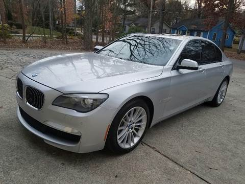 2010 BMW 7 Series for sale at IMPORT AUTO SOLUTIONS, INC. in Greensboro NC
