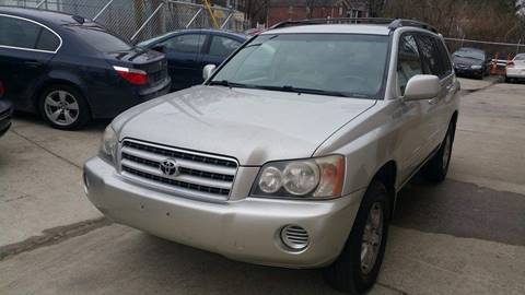 2002 Toyota Highlander for sale at IMPORT AUTO SOLUTIONS, INC. in Greensboro NC