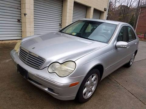 2002 Mercedes-Benz C-Class for sale at IMPORT AUTO SOLUTIONS, INC. in Greensboro NC