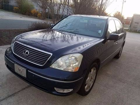 2001 Lexus LS 430 for sale at IMPORT AUTO SOLUTIONS, INC. in Greensboro NC