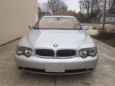 2004 BMW 7 Series for sale at IMPORT AUTO SOLUTIONS, INC. in Greensboro NC