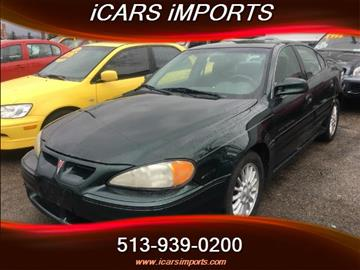 2001 Pontiac Grand Am for sale in Fairfield, OH