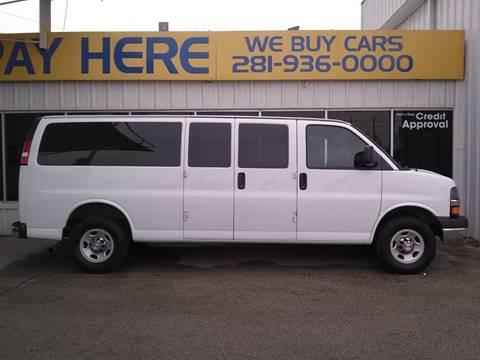 2016 Chevrolet Express Passenger For Sale In Houston TX