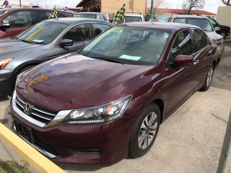 2014 Honda Accord Lx In Houston Tx Nas Auto Finance