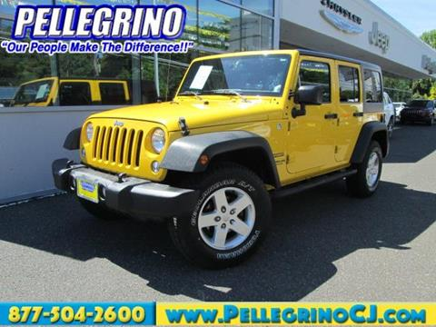 2015 Jeep Wrangler Unlimited for sale in Woodbury Heights, NJ