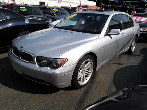 2002 BMW 7 Series for sale in Brentwood, NY