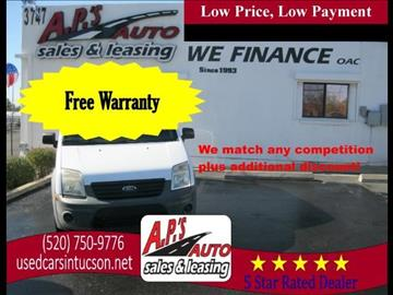 2010 Ford Transit Connect for sale in Tucson, AZ