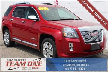 2013 GMC Terrain for sale in Charlotte, MI