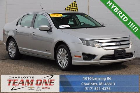 2010 Ford Fusion Hybrid for sale in Charlotte, MI
