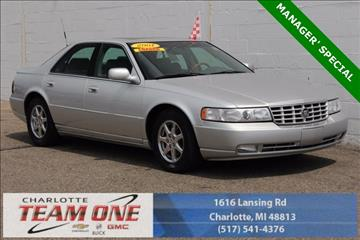 2001 Cadillac Seville for sale in Charlotte, MI