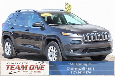 2017 Jeep Cherokee for sale in Charlotte, MI