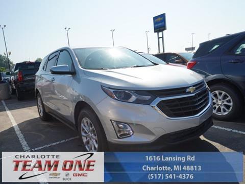 2018 Chevrolet Equinox for sale in Charlotte, MI