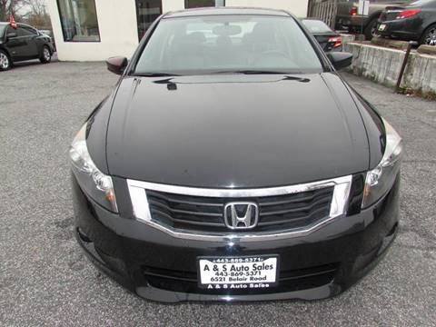 2009 Honda Accord for sale in Baltimore, MD