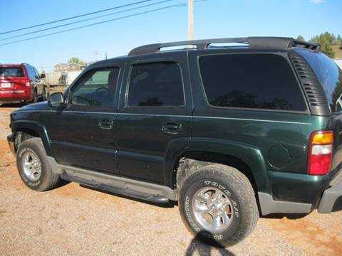 2002 Chevrolet Tahoe for sale in Rapid City, SD