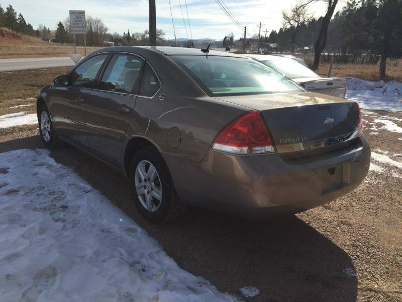 2007 chevrolet impala rapid city sd rapid city south dakota sedan vehicles for sale. Black Bedroom Furniture Sets. Home Design Ideas