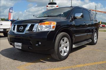 2012 Nissan Armada for sale in Porter, TX
