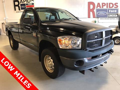 Trucks For Sale In Wi >> 2008 Dodge Ram Pickup 2500 For Sale In Wisconsin Rapids Wi