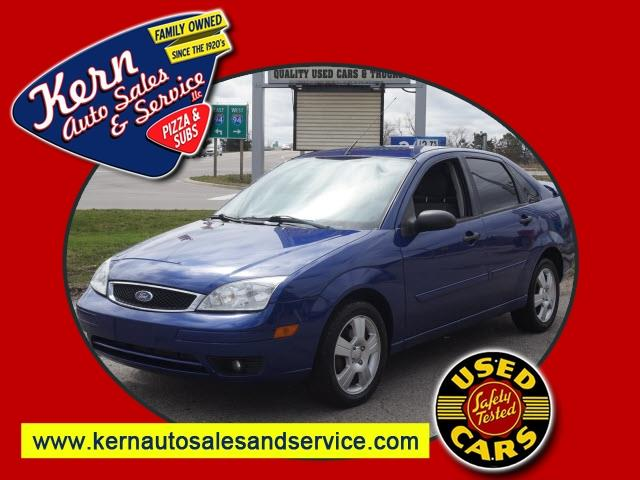2006 Ford Focus for sale at Kern Auto Sales & Service LLC in Chelsea MI