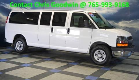 2015 Chevrolet Express Passenger for sale in Richmond IN