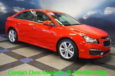 2015 Chevrolet Cruze for sale in Richmond IN