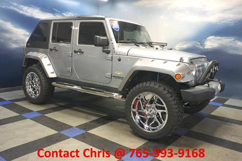 2015 Jeep Wrangler Unlimited for sale in Richmond, IN