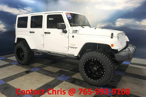 2013 Jeep Wrangler Unlimited for sale in Richmond, IN