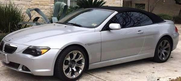 2007 BMW 6 Series 650i 2dr Convertible - Austin TX