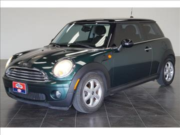 2009 MINI Cooper for sale at First Auto Connection in Houston TX