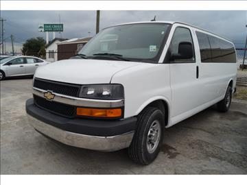 2014 Chevrolet Express Passenger for sale at First Auto Connection in Houston TX