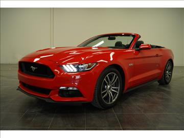 2016 Ford Mustang for sale at First Auto Connection in Houston TX