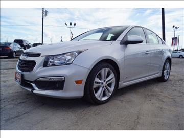 2015 Chevrolet Cruze for sale at First Auto Connection in Houston TX