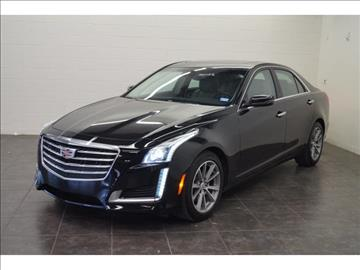 2017 Cadillac CTS for sale at First Auto Connection in Houston TX