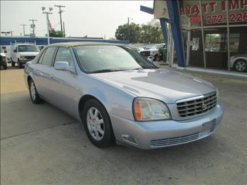 2005 Cadillac DeVille for sale in Carrollton, TX