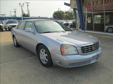 2005 Cadillac DeVille for sale in Carrollton, TX