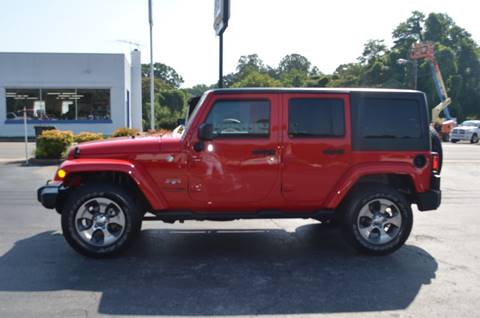 2018 Jeep Wrangler Unlimited for sale in Elkin, NC