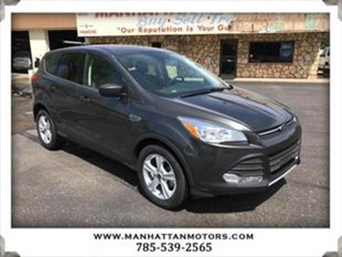 2016 Ford Escape for sale in Manhattan, KS