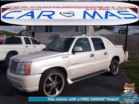 2004 Cadillac Escalade EXT for sale at Car Mas Broadway in Crest Hill IL