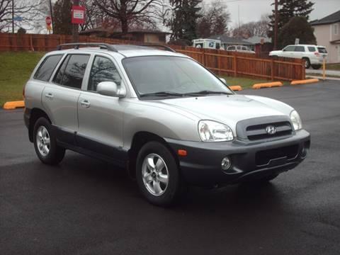 2005 Hyundai Santa Fe for sale at Car Mas Broadway in Crest Hill IL