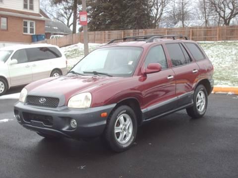 2003 Hyundai Santa Fe for sale at Car Mas Broadway in Crest Hill IL