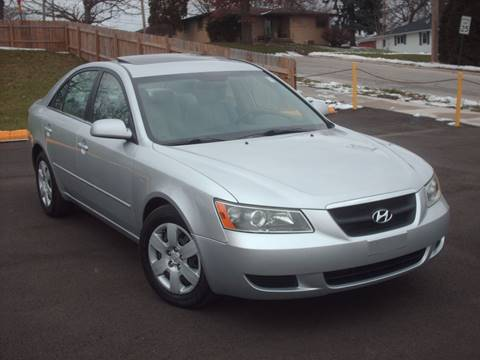 2008 Hyundai Sonata for sale at Car Mas Broadway in Crest Hill IL