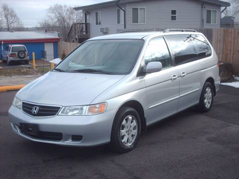 2002 Honda Odyssey for sale at Car Mas Broadway in Crest Hill IL