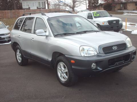2003 Hyundai Santa Fe for sale at Car Mas Broadway in Crest Hill IL