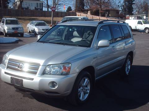 2006 Toyota Highlander Hybrid for sale at Car Mas Broadway in Crest Hill IL