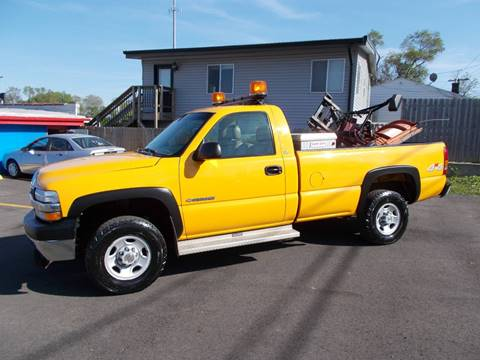 2001 Chevrolet Silverado 2500HD for sale at Car Mas Broadway in Crest Hill IL